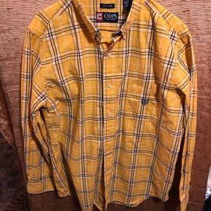 Men's Chap's Ling Sleeve Button Down Shirt